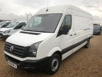 USED 2015 65 VOLKSWAGEN CRAFTER 2.0 CR35 TDI H/R P/V STARTLINE 1d 135 BHP 2015 LWB 136HP 6 SPEED