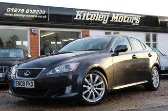 2008 LEXUS IS 2.5 250 SE-L 4d AUTO 204 BHP £7995.00