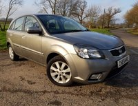 2010 KIA RIO 1.4 GRAPHITE 5d +1FORMER KEEPER+FULL HISTORY+2KEYS £2475.00