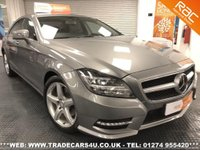 USED 2011 11 MERCEDES-BENZ CLS 350 CDI PLUS SPORT AMG DIESEL AUTO UK DELIVERY* RAC APPROVED* FINANCE ARRANGED* PART EX
