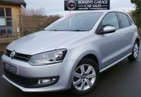 USED 2012 62 VOLKSWAGEN POLO 1.2 MATCH 5d 59 BHP 1 Lady Owner - 5 Services - Very Low Mileage