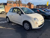 USED 2014 14 FIAT 500 1.2 POP 3d 69 BHP ONLY 7675 MILES! LOW CO2 EMISSIONS! CHEAP TO RUN! GOOD FUEL ECONOMY! £30 ROAD TAX! AUXILIARY INPUT, USB INPUT! FULL SERVICE HISTORY!