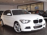 USED 2014 14 BMW 1 SERIES 2.0 118D M SPORT 5d 141 BHP M PERFORMANCE STYLING+PRIVACY