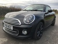 USED 2011 61 MINI COUPE 1.6 COOPER 2d 120 BHP