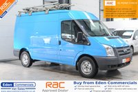 2013 FORD TRANSIT 2.2 330 124 BHP *EX BRITISH GAS + VERY LOW MILES* £9495.00