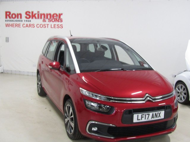 View our 2017 17 CITROEN C4 GRAND PICASSO 1.6 BLUEHDI FEEL S/S 5d 118 BHP
