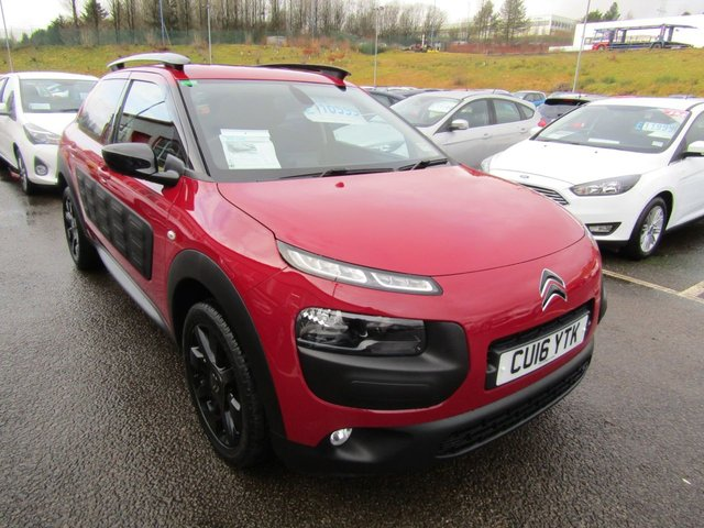 View our 2016 16 CITROEN C4 CACTUS 1.6 BLUEHDI FLAIR 5d 98 BHP