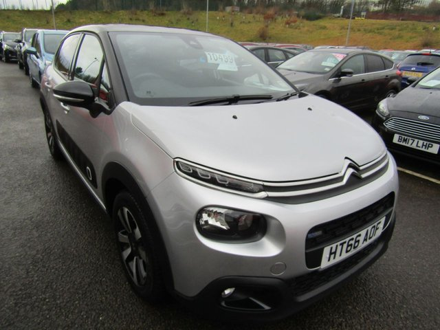 View our 2017 66 CITROEN C3 1.2 PURETECH FLAIR 5d 81 BHP