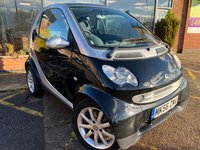 2006 SMART FORTWO 0.7 PASSION SOFTOUCH 2d AUTO 61 BHP £2695.00