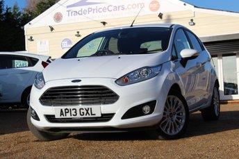 2013 FORD FIESTA 1.6 TITANIUM 5d AUTO 104 BHP £7950.00