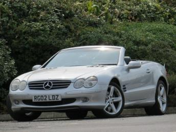 2002 MERCEDES-BENZ SL
