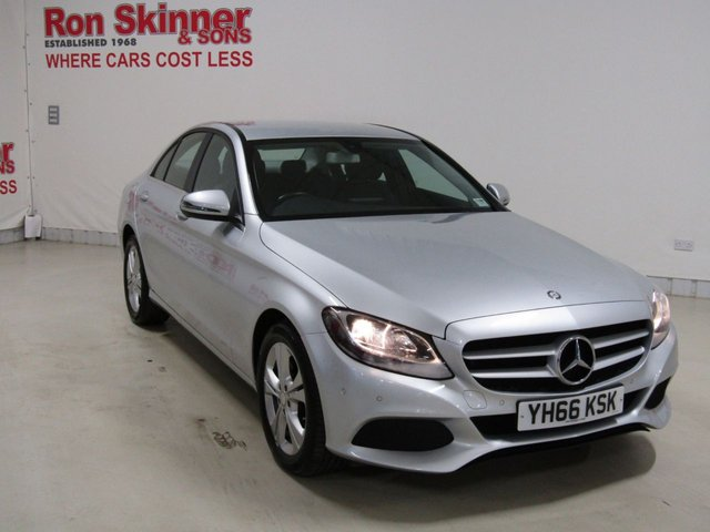 View our 2016 66 MERCEDES-BENZ C-CLASS 2.1 C 220 D SE EXECUTIVE EDITION 4d AUTO 170 BHP