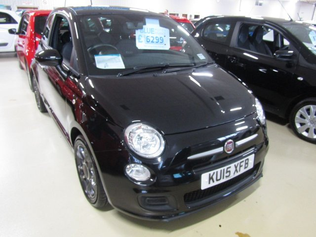 View our 2015 15 FIAT 500 0.9 TWINAIR S 3d 85 BHP