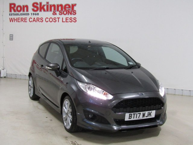 View our 2017 17 FORD FIESTA 1.0 ST-LINE 3d 100 BHP