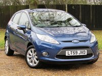 2009 FORD FIESTA 1.2 ZETEC 5d 81 BHP CLIMATE PACK £4990.00