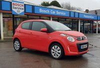 USED 2015 15 CITROEN C1 1.0 FEEL 5d 68 BHP Citroen C1 Feel Stunning in Orange Low Miles
