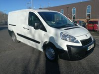 USED 2012 62 PEUGEOT EXPERT 1.6 HDI 1200 L2H1 1d 90 BHP AIR CONDITIONING  - ONE OWNER - FULL HISTORY