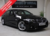2014 BMW 5 SERIES 2.0 520D M SPORT 4d AUTO 188 BHP £14380.00