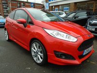 USED 2016 16 FORD FIESTA 1.0 ZETEC S 3d 124 BHP 1 OWNER, LOW MILES, DAB RADIO
