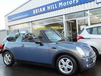 2007 MINI CONVERTIBLE 1.6 ONE 2dr £2995.00