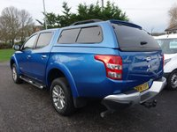 USED 2016 16 MITSUBISHI L200 Warrior 4x4 Double Cab Pick Up 2.4 Di-D 178Ps Only 8000 Miles! Best Selling Colour With High Specification Inc Leather, Sat Nav & Glazed Top. Viewing Highly Recommended!
