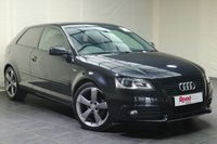 USED 2012 12 AUDI A3 2.0 TDI S LINE SPECIAL EDITION 3d 138 BHP LEATHER + 18's + £30 TAX