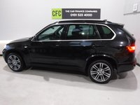 "USED 2012 62 BMW X5 3.0 XDRIVE30D M SPORT 5d AUTO 241 BHP A REAL EXAMPLE OF A STUNNING WELL LOOKED AFTER 4X4 VEHICLE, FINISHED IN GLEAMING BLACK METALLIC WITH CONTRASTING BLACK HEATED LEATHER+PIANO BLACK INSERTS, FRONT SPOT LIGHTS, CONNECTION DRIVE, 19"" UPGRADED ALLOYS, CRUSE CONTROL, BIG SCREEN SAT NAV, , PADDLE SHIFT AUTO GEAR BOX, VOICE COMMAND, , AUX USB LEAD, AUTO HEAD LAMPS, ELEC STEERING COLUMN, 8 CD CHANGER, BLUE TOOTH PHONE PREP."