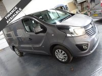 USED 2015 15 VAUXHALL VIVARO 1.6 2700 L1H1 CDTI P/V SPORTIVE 1d 118 BHP + 1 OWNER + AIR CON