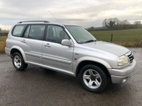 2002 SUZUKI GRAND VITARA 2.7 V6 XL-7 5STR 5d 171 BHP £1995.00
