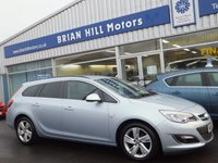 2015 VAUXHALL ASTRA 1.6 SRi SPORT TOURER ESTATE 5dr  £7995.00