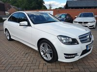 USED 2013 63 MERCEDES-BENZ C-CLASS 2.1 C250 CDI BLUEEFFICIENCY AMG SPORT 4d 202 BHP
