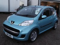 USED 2011 11 PEUGEOT 107 1.0 ENVY 3d 68 BHP 2 OWNERS, FULL PEUGEOT HISTORY!
