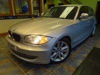 2011 BMW 1 SERIES 2.0 118D SE 5d 141 BHP £5750.00