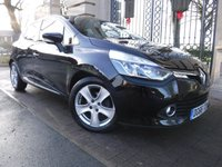 USED 2016 66 RENAULT CLIO 1.5 DYNAMIQUE NAV DCI 5d AUTO 89 BHP FINANCE ARRANGED***PART EXCHANGE WELCOME***1 OWNER***£0 ROAD TAX***SAT NAV***CRUISE***BLUETOOTH***DAB