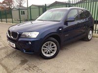 2013 BMW X3 2.0 XDRIVE20D SE 5d AUTO 181 BHP LEATHER PDC £12990.00