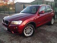 2012 BMW X3 2.0 XDRIVE20D SE 5d AUTO 181 BHP LEATHER PDC ONE OWNER £12490.00
