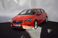 USED 2017 17 VAUXHALL ASTRA 1.6 DESIGN CDTI S/S 5d 134 BHP LOW TAX + MANUFACTURERS WARRANTY