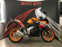 2012 HONDA CBR125 CBR 125 R-C £2490.00