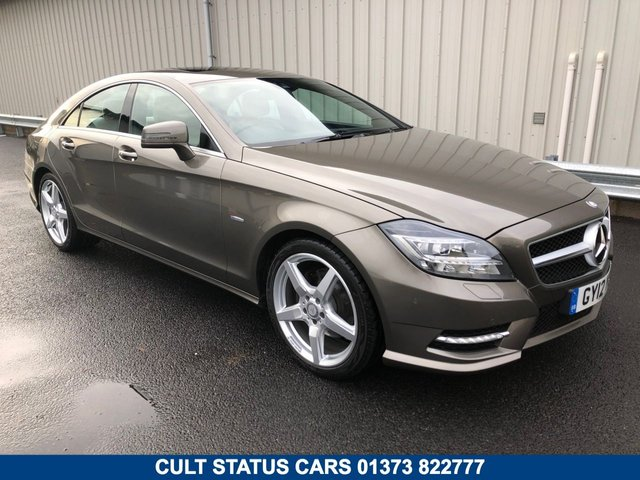 2012 12 MERCEDES-BENZ CLS CLASS 3.0 CLS350 CDI SPORT AMG COUPE AUTO 265 BHP