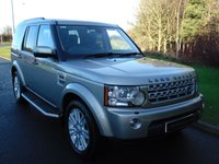2011 LAND ROVER DISCOVERY 3.0 4 SDV6 XS 5d AUTO 255 BHP £18990.00
