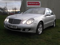 USED 2007 57 MERCEDES-BENZ E CLASS 3.0 E320 CDI ELEGANCE 4d AUTO 222 BHP 1 OWNER, 37K, FULL LEATHER!