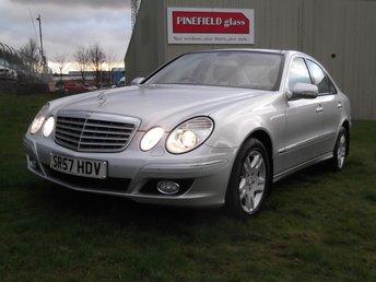 2007 MERCEDES-BENZ E CLASS 3.0 E320 CDI ELEGANCE 4d AUTO 222 BHP £6995.00