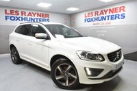 USED 2014 64 VOLVO XC60 2.0 D4 R-DESIGN 5d 178 BHP Full service history, Bluetooth, Cruise control, 1 Owner
