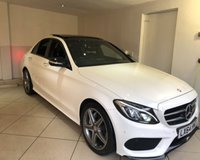 USED 2014 64 MERCEDES-BENZ C-CLASS C220 BLUETEC AMG LINE PREMIUM PLUS