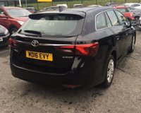 USED 2016 16 TOYOTA AVENSIS 1.6 D-4D ACTIVE 5d 110 BHP
