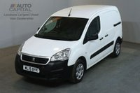 USED 2015 15 PEUGEOT PARTNER 1.6 HDI PROFESSIONAL L1 850 90 BHP SWB AIR CON VAN AIR CONDITIONING / SPARE KEY