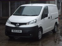 USED 2015 15 NISSAN NV200 1.5 DCI ACENTA 1d 90 BHP FULL SERVICE HISTORY