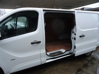 USED 2017 67 VAUXHALL VIVARO 1.6 L2H1 2900 SPORTIVE CDTI 1d 120 BHP GREAT SPEC VAN, WITH COLOUR CODED BUMPERS