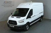 USED 2015 15 FORD TRANSIT 2.2 350 124 BHP LWB H/ROOF L3 H3 PANEL VAN ONE OWNER FULL S/H SPARE KEY