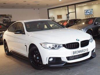 2015 BMW 4 SERIES GRAN COUPE 3.0 435D XDRIVE M SPORT GRAN COUPE 4d AUTO 309 BHP £22990.00